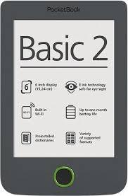 PocketBook Basic 2PB614W-Y-WW Grey