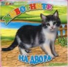Книжка за баня с дрънкалка: Животните на двора
