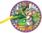 Книжка за баня с дрънкалка: Весели животни